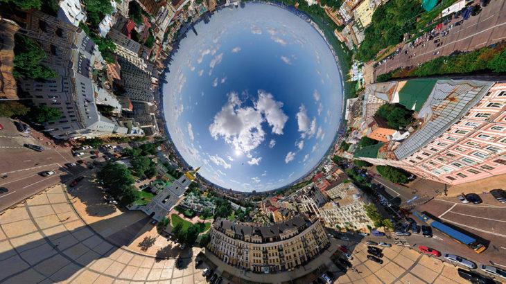 Как сделать панорамное фото с помощью смартфона