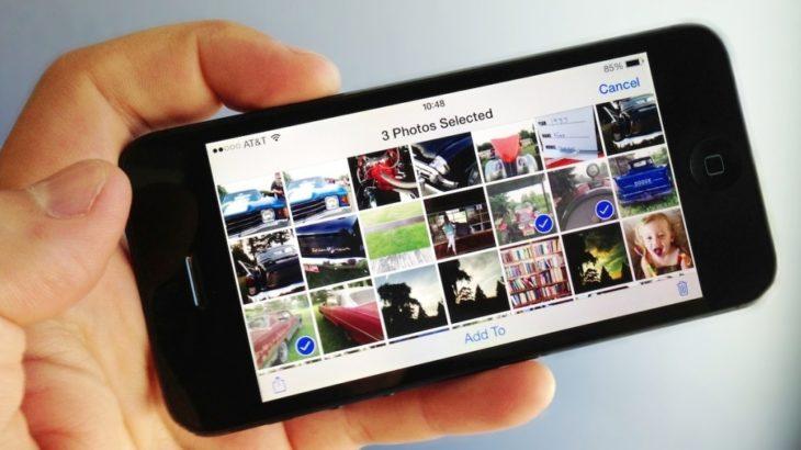 Как раскидать фотографии на iPhone по карте