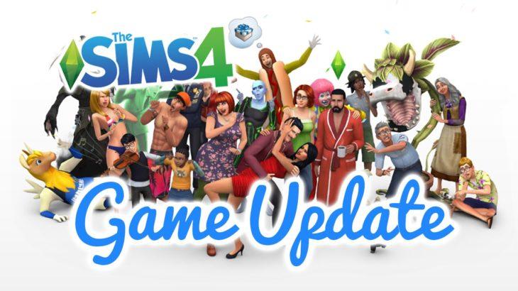 Бесплатный апдейт для Sims 4