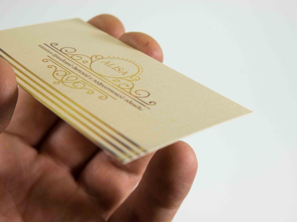 Эта «устаревшая» бумажная визитка