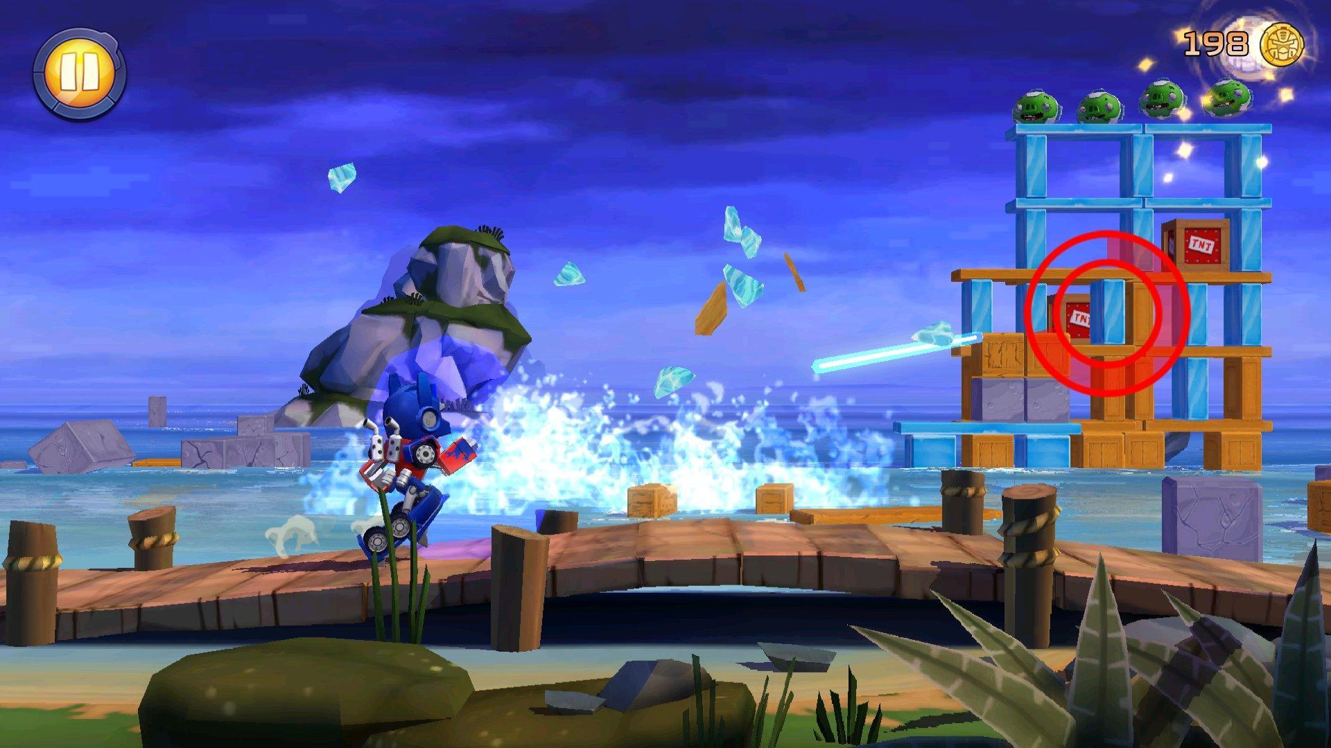 Angry Birds Transformers уже в свободном доступе
