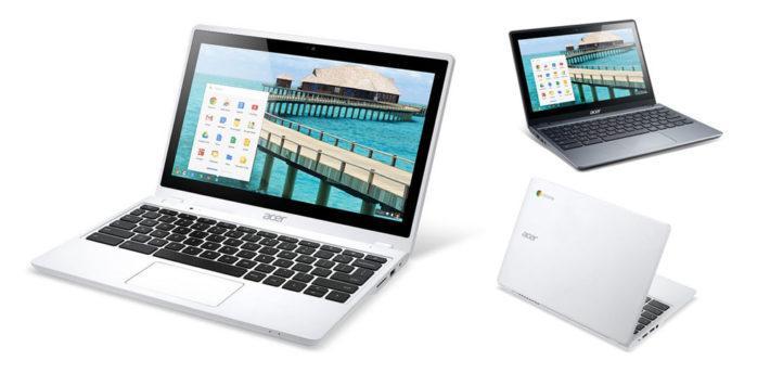 Лучший бюджетный хромбук 2014 года: Acer Chromebook C720P
