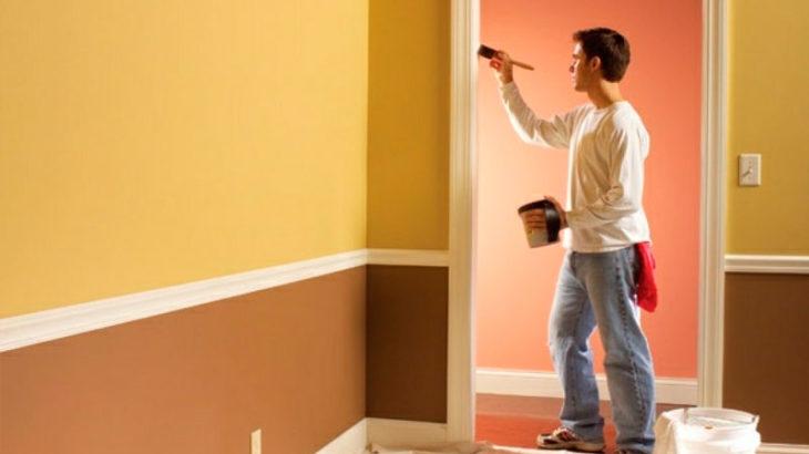 Как перекрасить стены в квартире