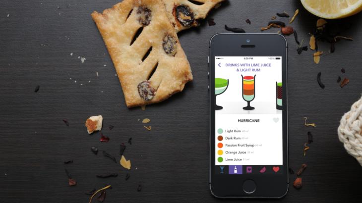 Lush для iOS: все коктейли мира в одном приложении