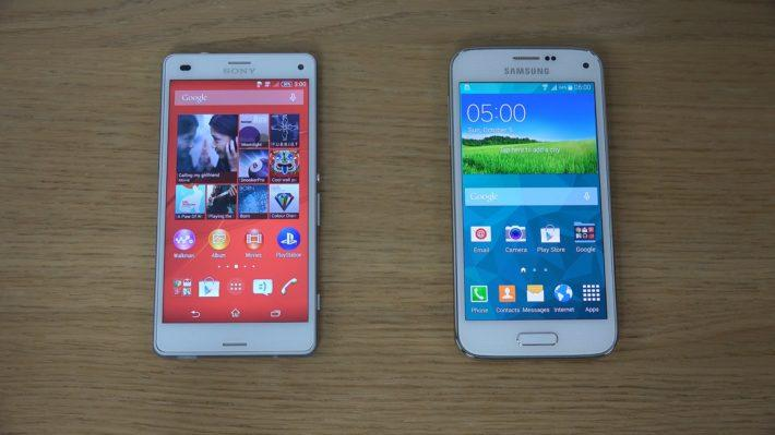 Что лучше: Samsung Galaxy S5 или Sony Xperia Z3?