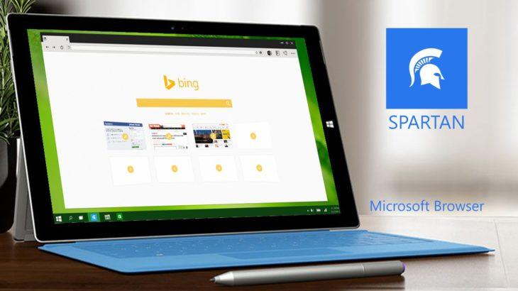 Spartan — новый браузер от Microsoft