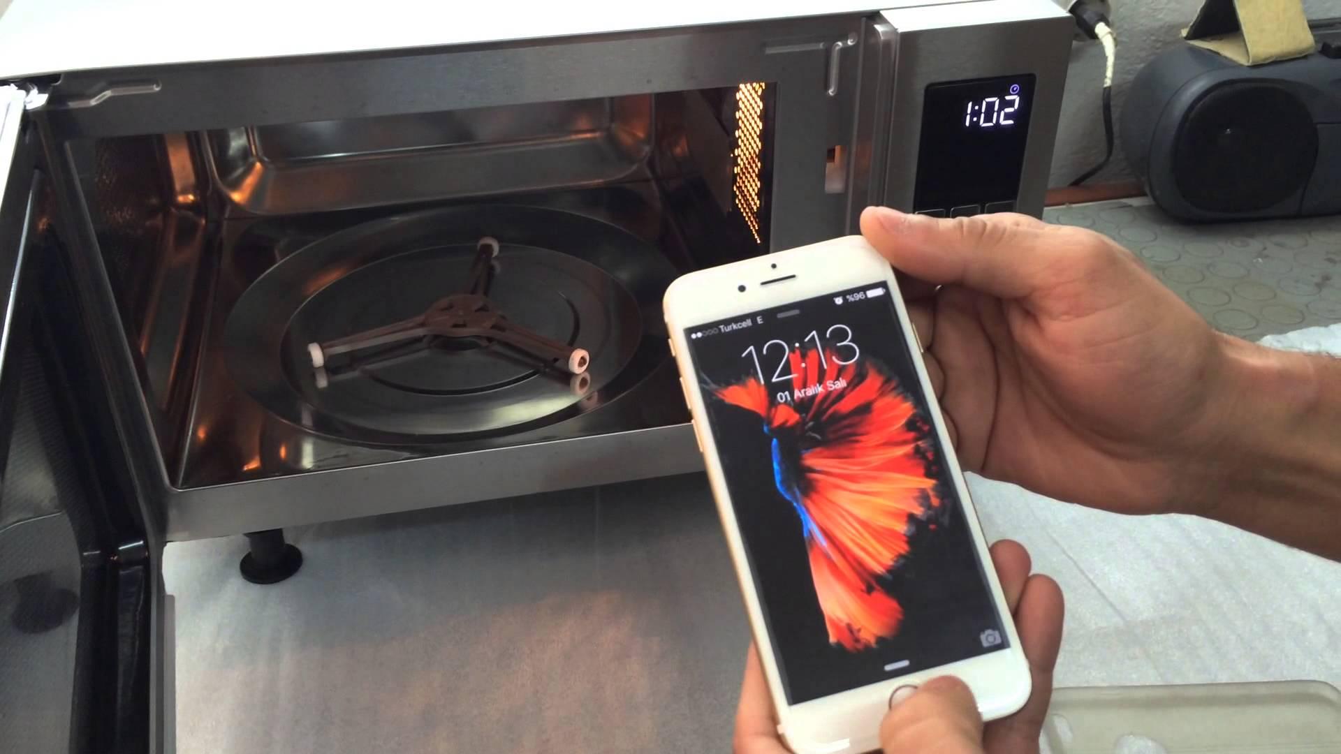 Как зарядить айфон в микроволновке: технология Wave [удачная шутка]