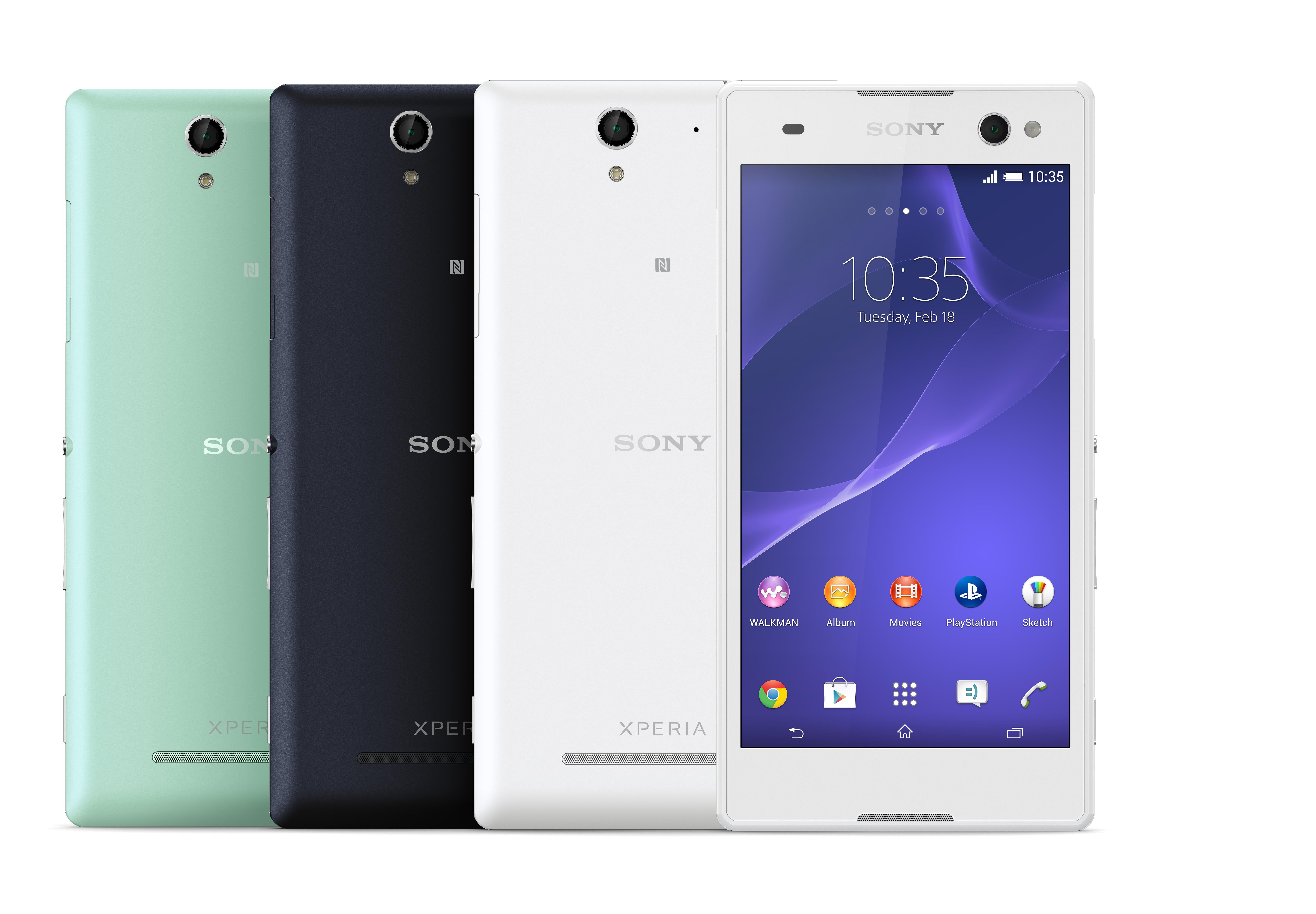 Обзор смартфона Sony Xperia C3 Dual