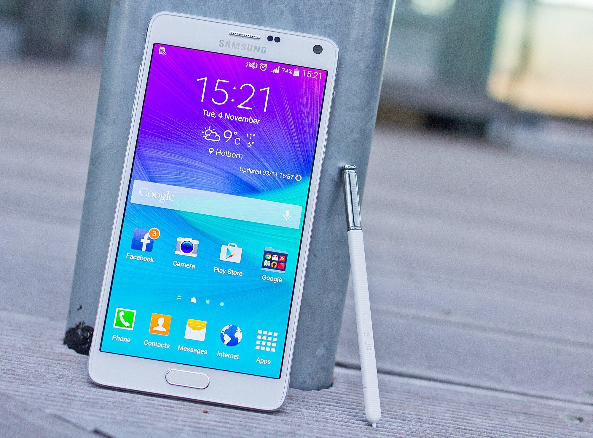 4 обязательные настройки Samsung Galaxy Note 4