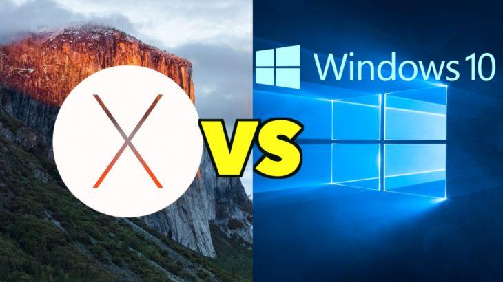 Windows или OS X  — счет 10:10