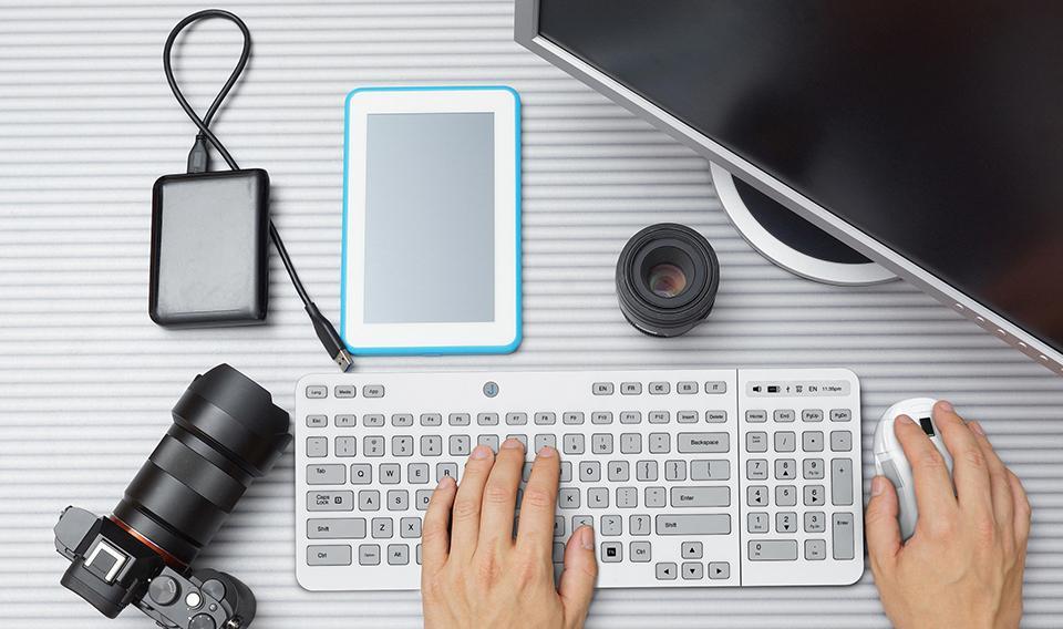 Jaasta E Ink Keyboard — первая клавиатура для компьютера с E-Ink кнопками