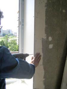 Как заделать откосы на окнах