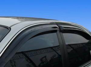 Как установить дефлекторы на окна