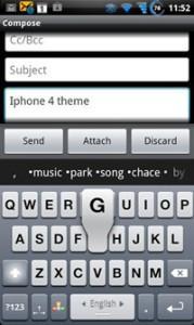 Виртуальная клавиатура для Android
