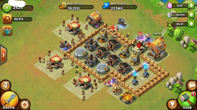 Игра Битва Замков на Андроид (Castle Clash): увлекательна и без сюжета