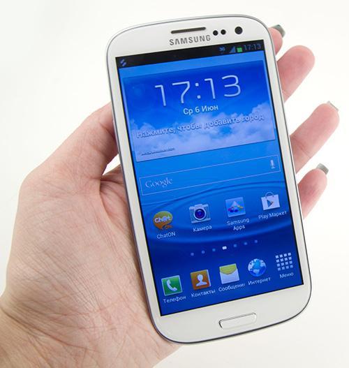 Обзор Samsung Galaxy S 3