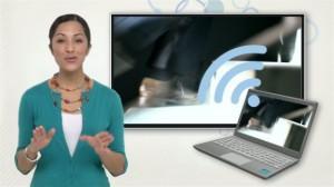 Как подключить ноутбук к телевизору по WiFi
