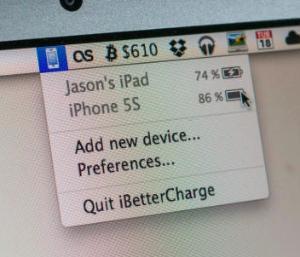 Как заряжать iPad и iPhone вовремя: iBetterCharge