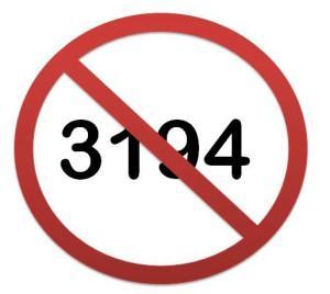 Почему возникает ошибка 3194?