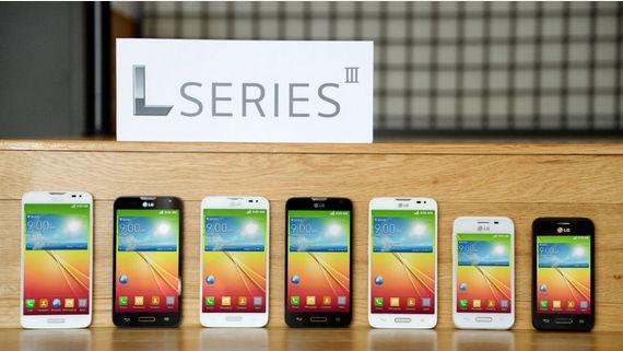 LG представила три смартфона серии L III