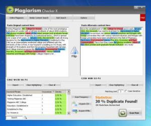 Программа для проверки на плагиат: Plagiarism Checker X