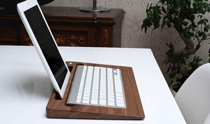 Подставка под iPad и клавиатуру Apple