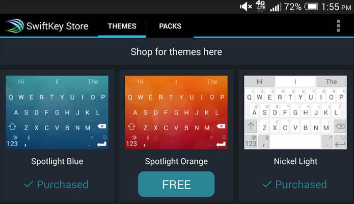 Теперь лучшую клавиатуру для Android – SwiftKey – можно скачать бесплатно