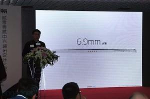 Толщина ZTE Grand S равняется всего 6,9 мм, при этом внутри разместиться камера Mobile на 13 мегапикселей
