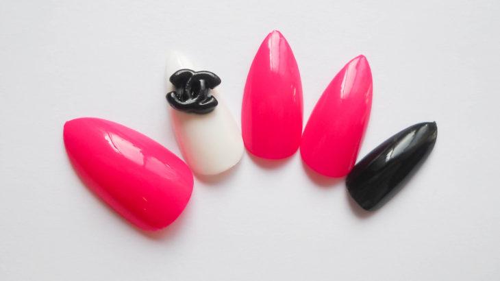 Как наклеить накладные ногти