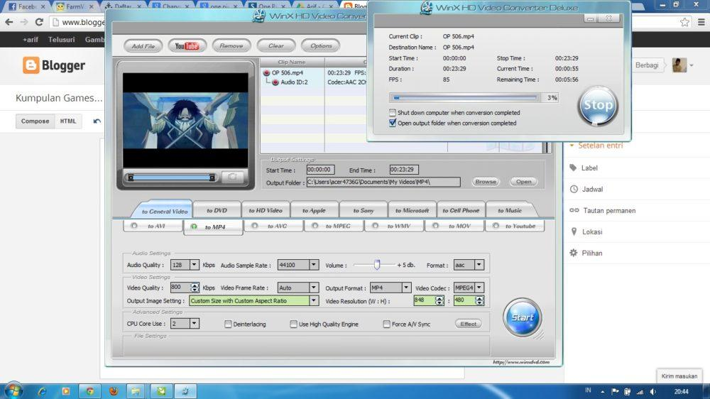 WinX HD Video Converter – программа по системе «все включено»