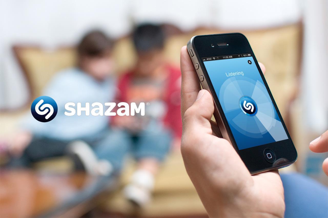 Shazam для Android: определение названия песни и исполнителя