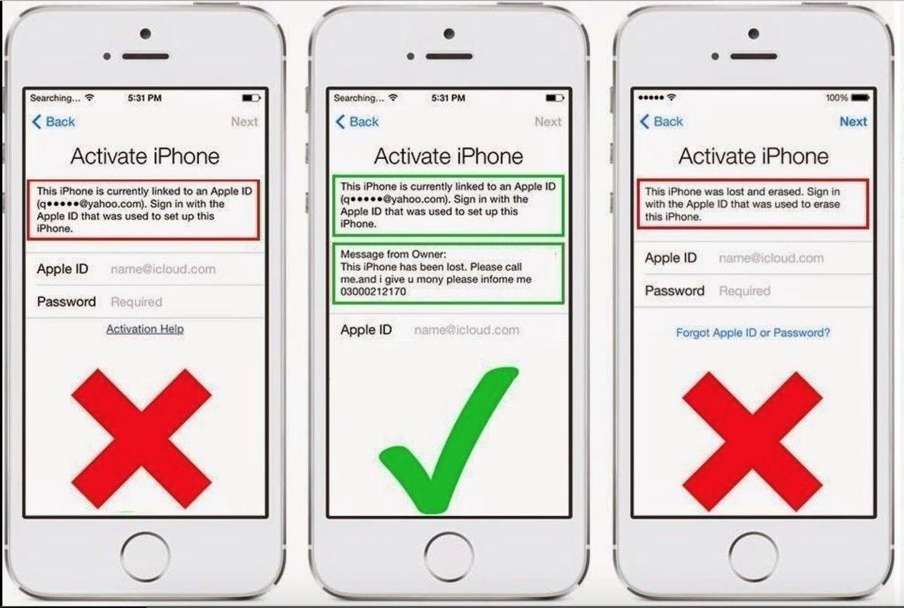 Как отвязать iPhone от Apple ID после покупки с рук