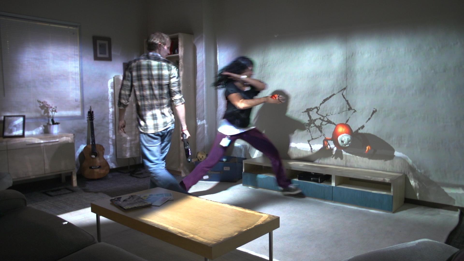 RoomAlive  — «живая» виртуальная реальность в вашей гостиной