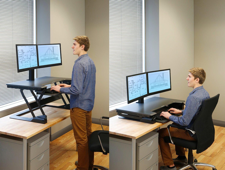 А не поработать ли нам за компьютером стоя?