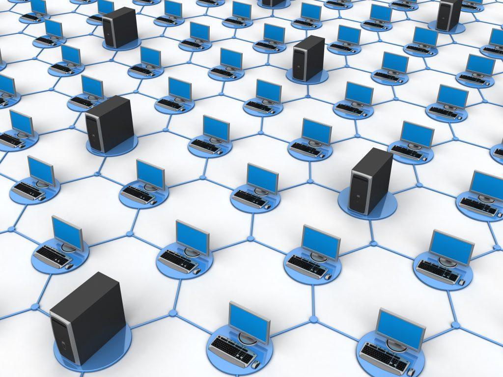 Как устроена компьютерная сеть и из чего она состоит