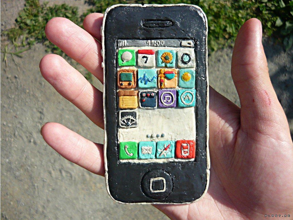 «Пластилиновый» смартфон