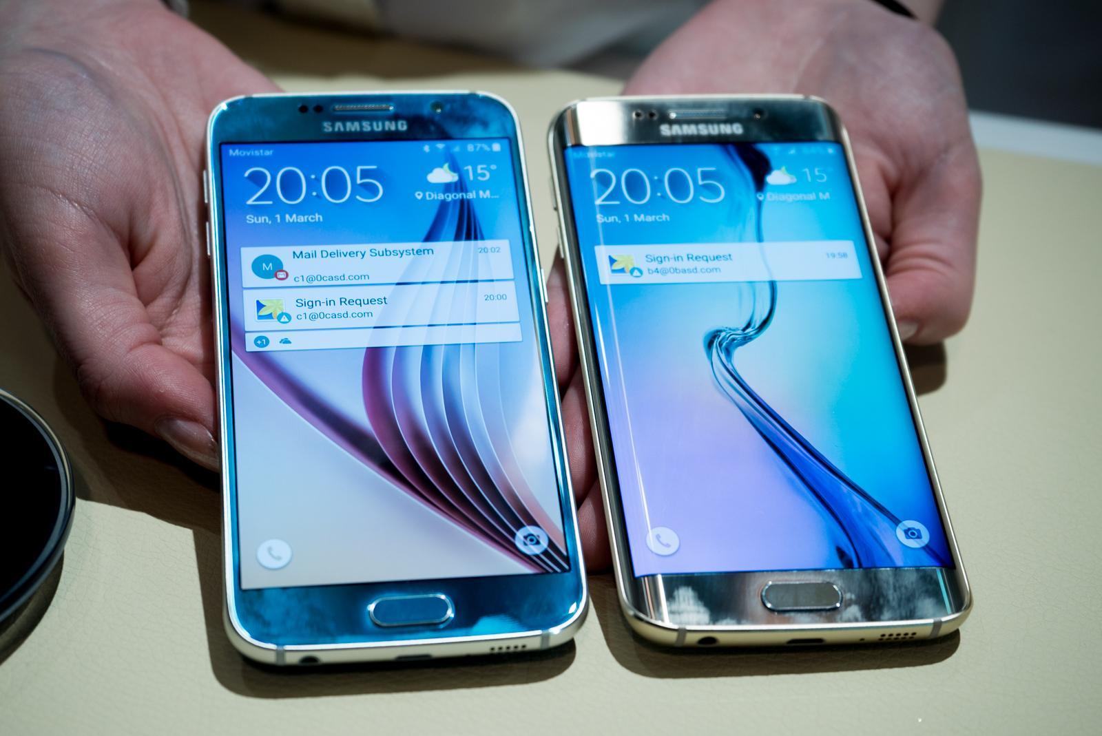 Samsung представила Galaxy S6 и Galaxy S6 Edge: Предварительный обзор новых флагманов
