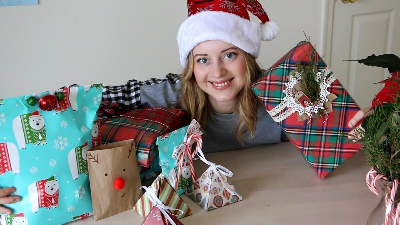 Как упаковать подарок на Новый Год: 3 способа по 5 минут каждый