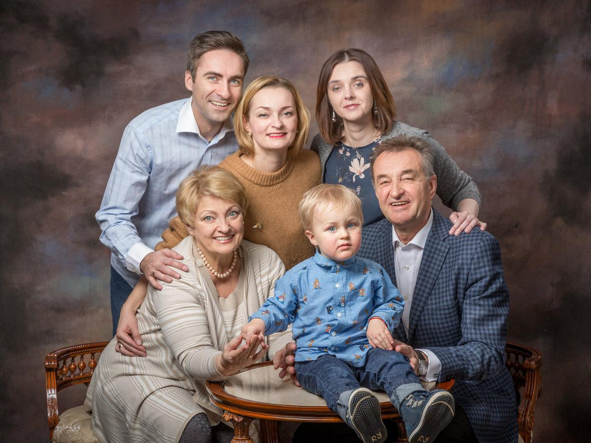 Три секрета удачного семейного портрета