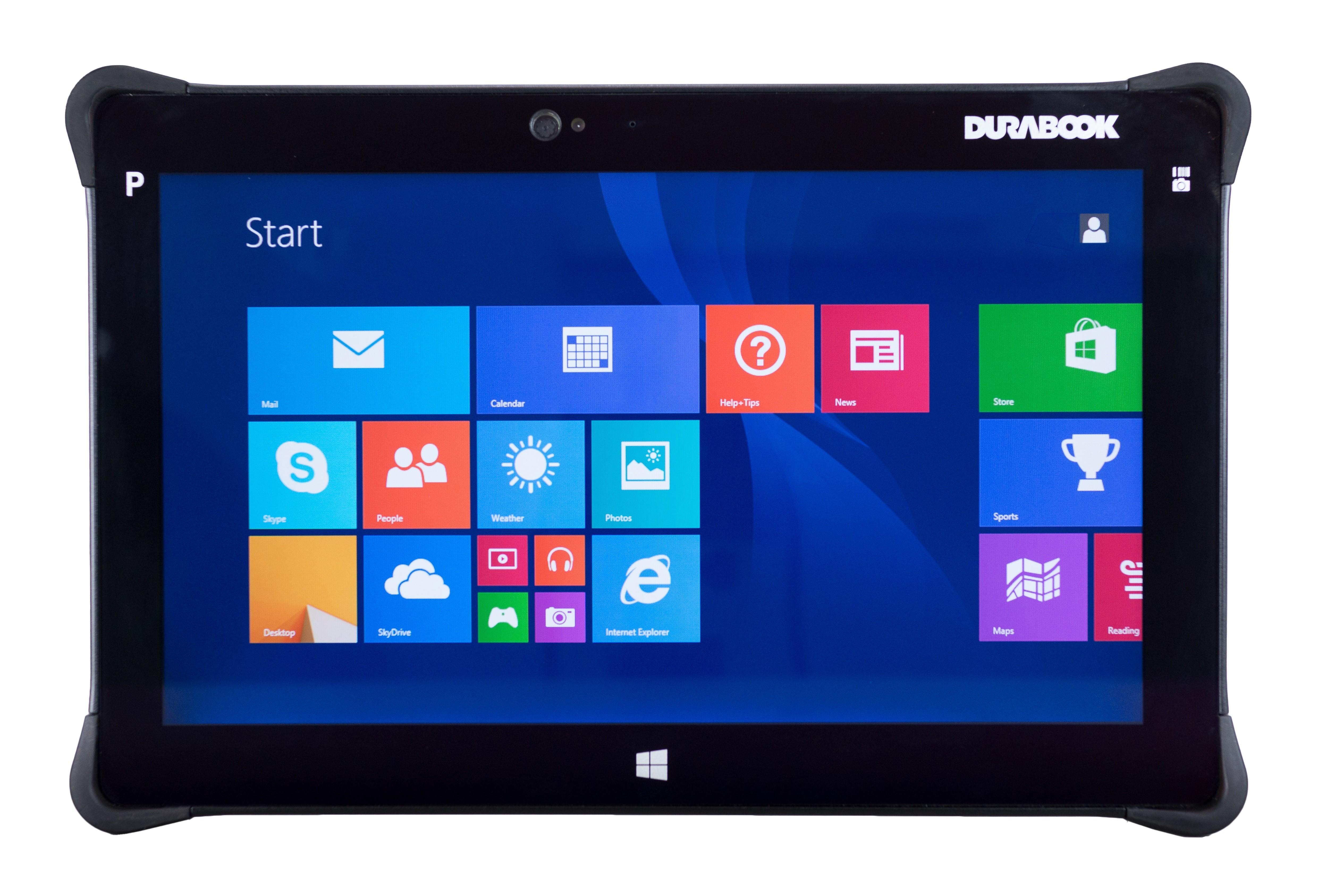 Планшет для экстремалов с 11,6-дюймовым экраном: DuraBook R11