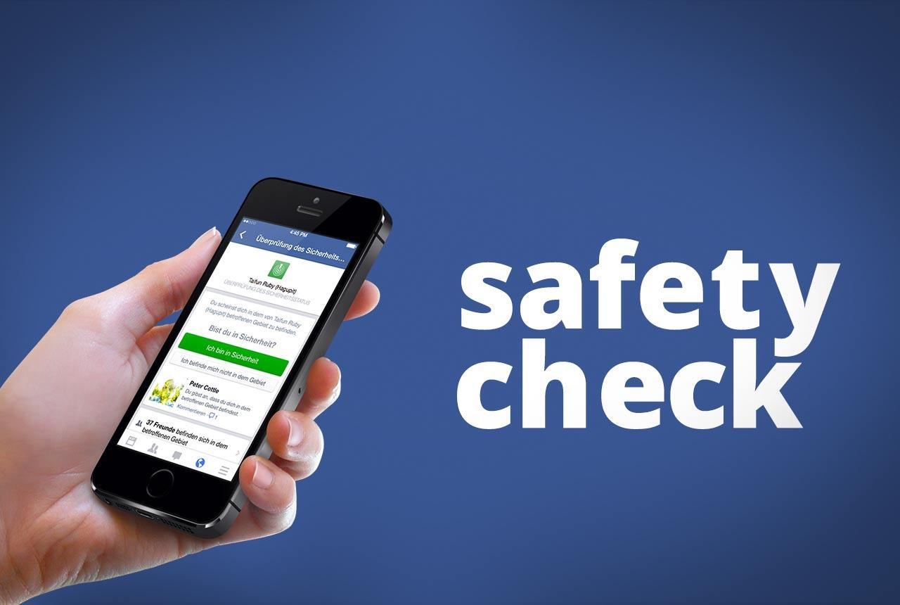 Safety Check от Facebook