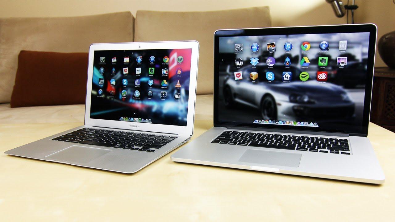 Что лучше MacBook Pro или MacBook Air