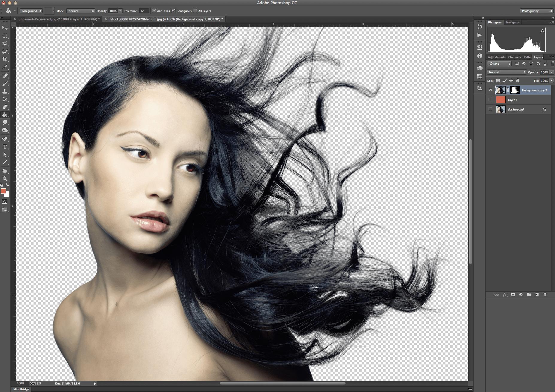 Как выделить волосы в Фотошопе: секреты эффективной работе в фоторедактора