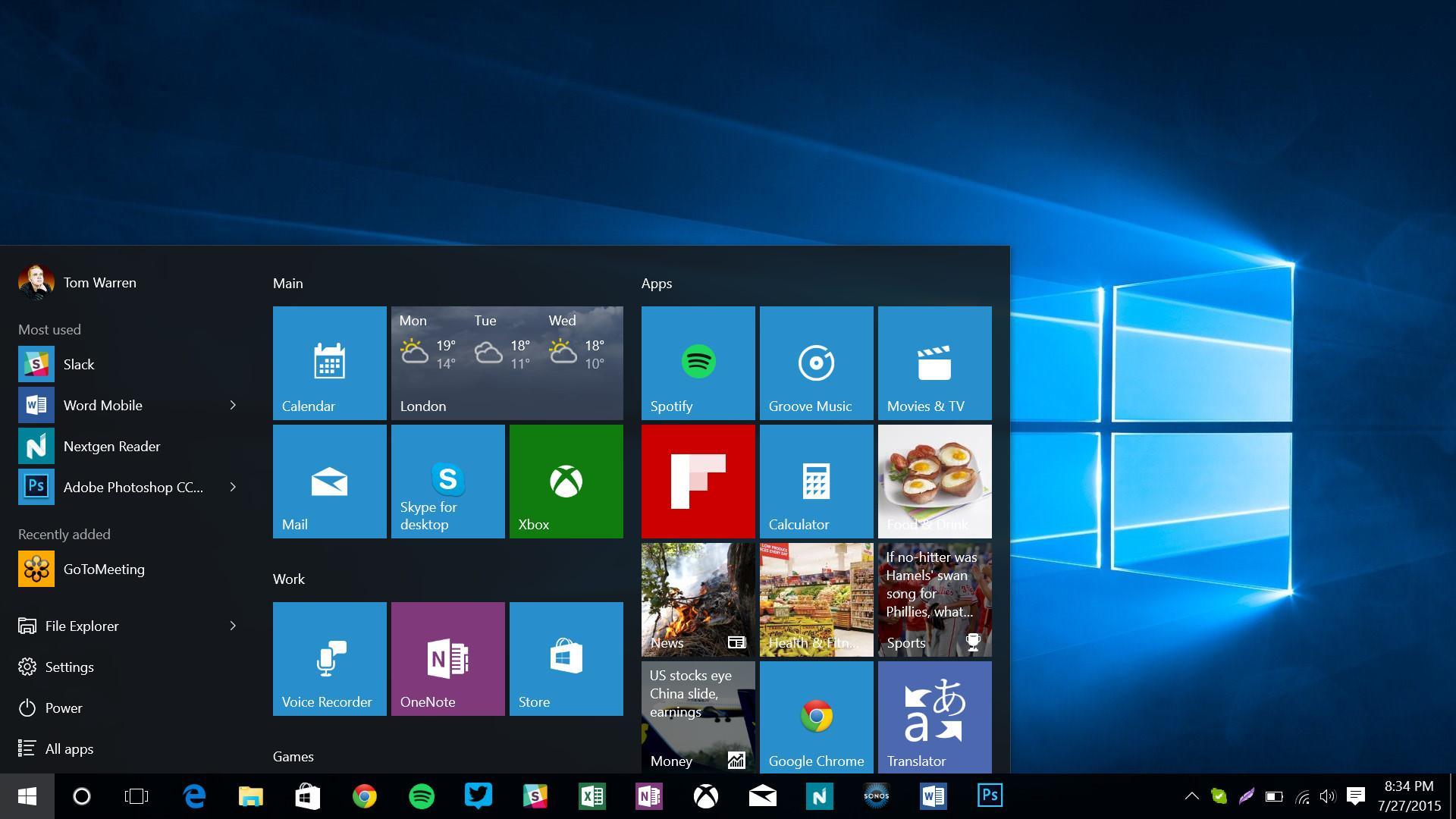 В Windows 10 встроен кейлоггер