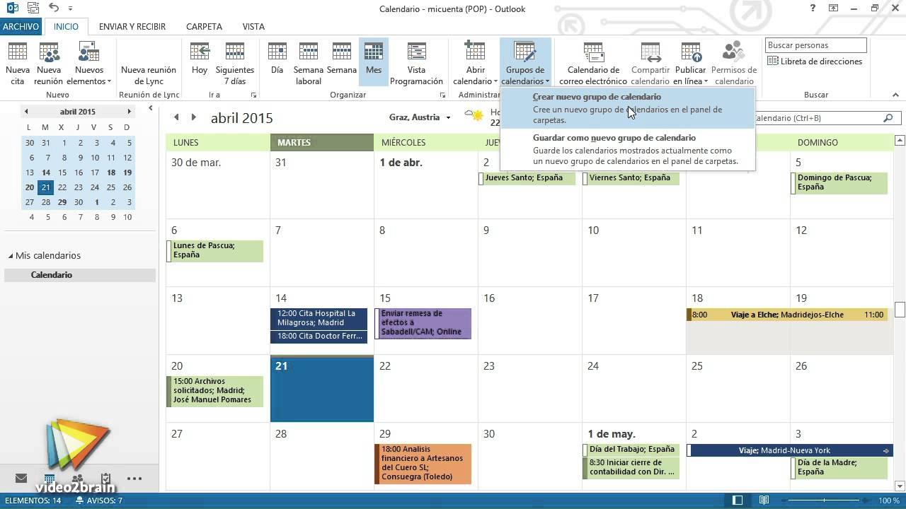 Работа с Outlook 2013: создание заметок