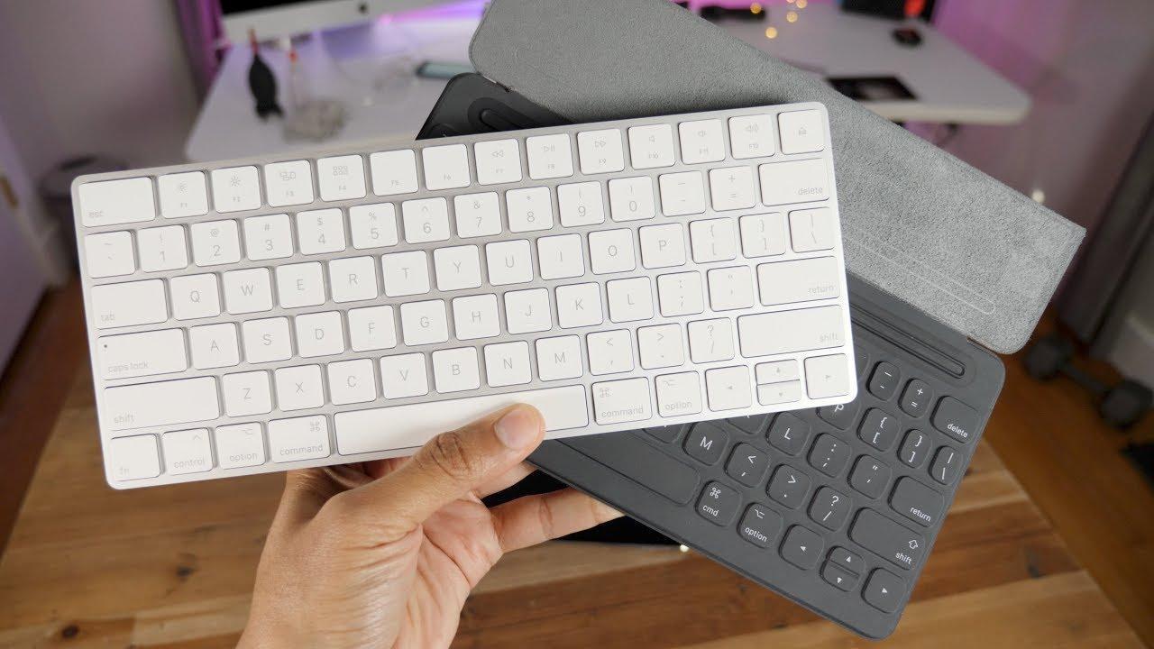 Как изменить язык на Bluetooth клавиатуре iPad