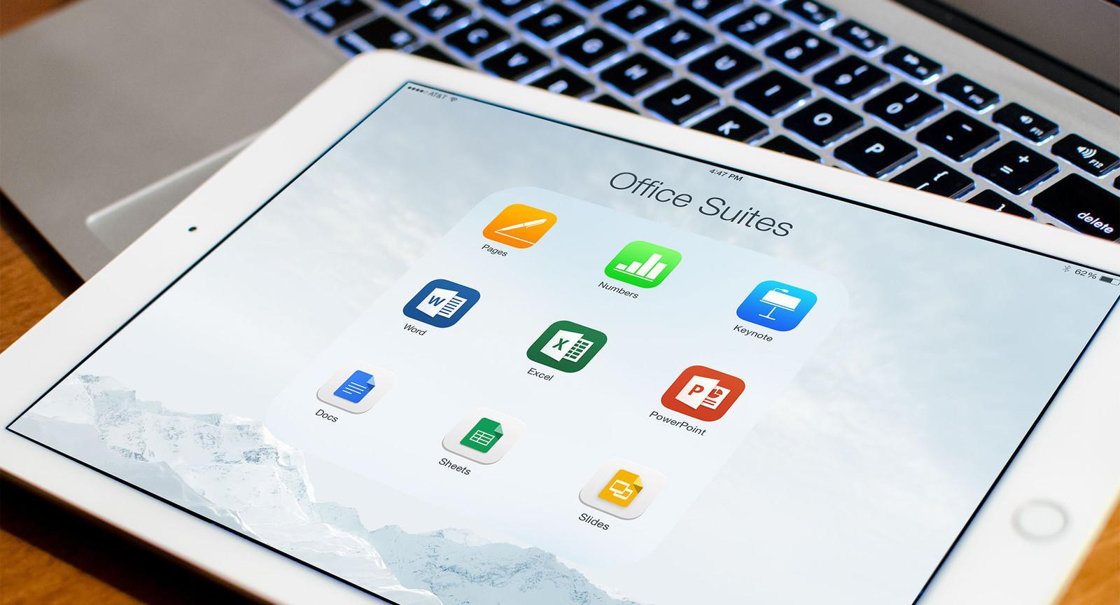 В офисный набор для iOS Google добавил возможность редактирования текстовых документов и таблиц в формате Microsoft Office…