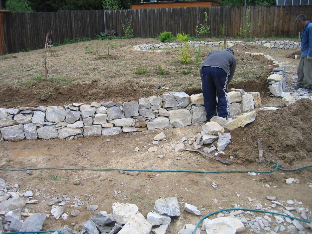 Как изготовить камень
