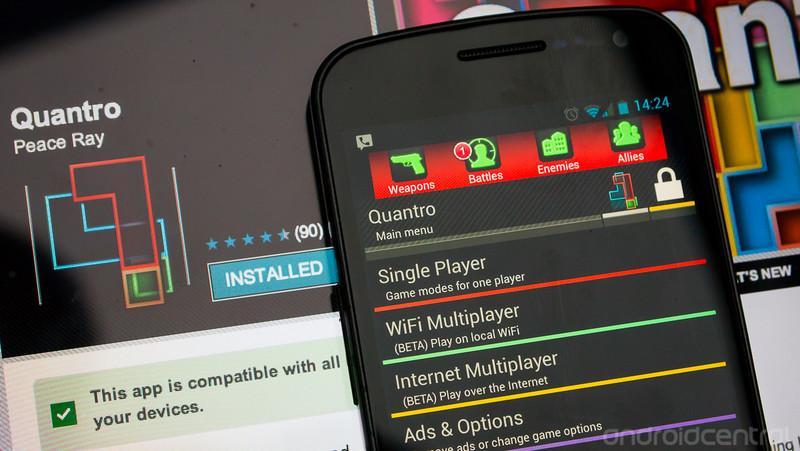 Логическая игра Quantro теперь доступна в сетевом многопользовательском режиме