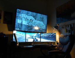 Используем телевизор для компьютерных игр